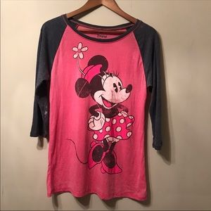 Mickey Mouse Disney T Shirt Acid Wash Style